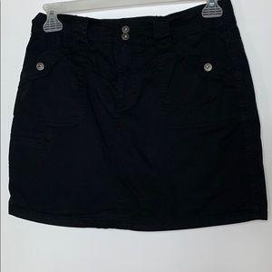 Gloria Vanderbilt black skort size 8